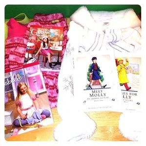 American girl doll clothes & original books + more
